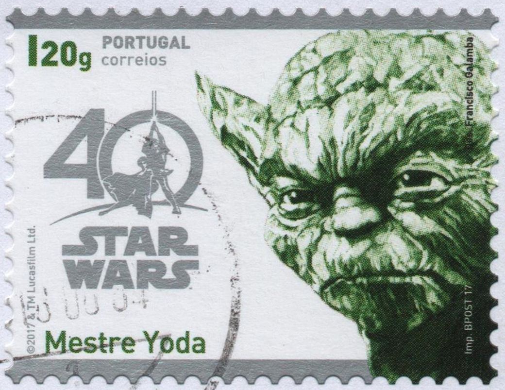 Master Yoda A Stamp A Day