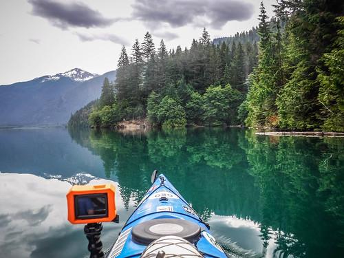 Kayaking on Baker Lake-76