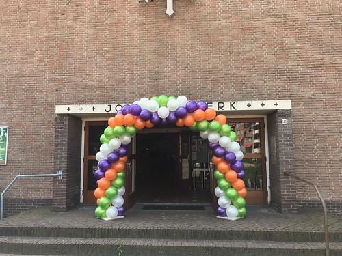 Ballonboog 6m Diplomauitreiking C.S. De Hoven Johanneskerk Gorinchem