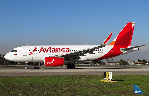 Avianca A319 N690AV (RD)