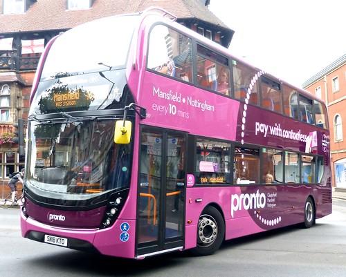 SN18 KTO 'Stagecoach Lincolnshire' No. 10977 'Pronto'. Alexander Dennis Ltd. (ADL) E40D  / 'ADL' Enviro 400MMC on Dennis Basford's railsroadsrunways.blogspot.co.uk'