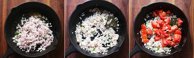 How to make paneer bhurji gravy recipe - Step3
