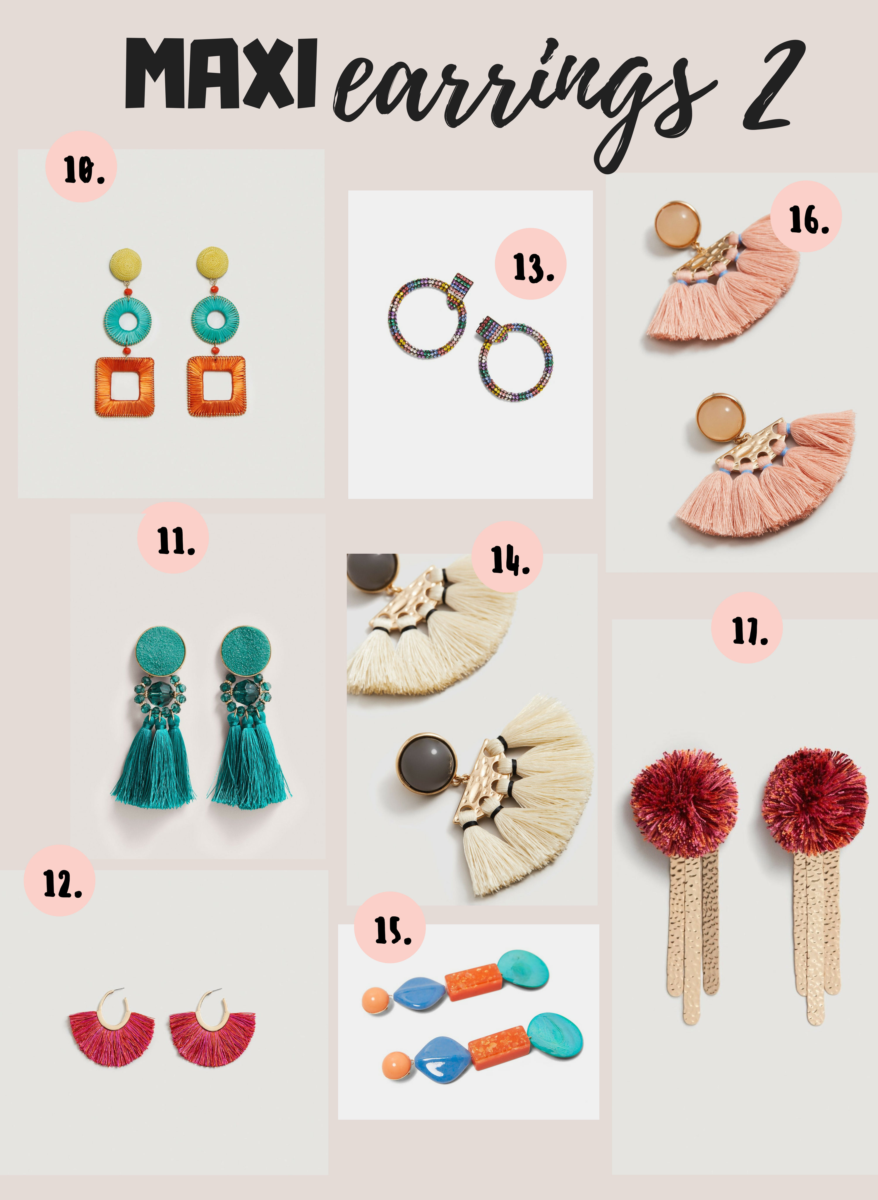 maxi pendientes _shopping