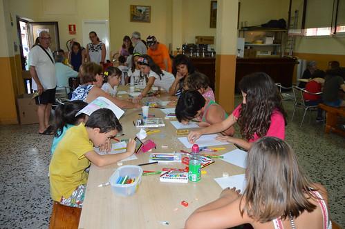 Fiestas Barrio de La Paz 2018. Concurso de Dibujo