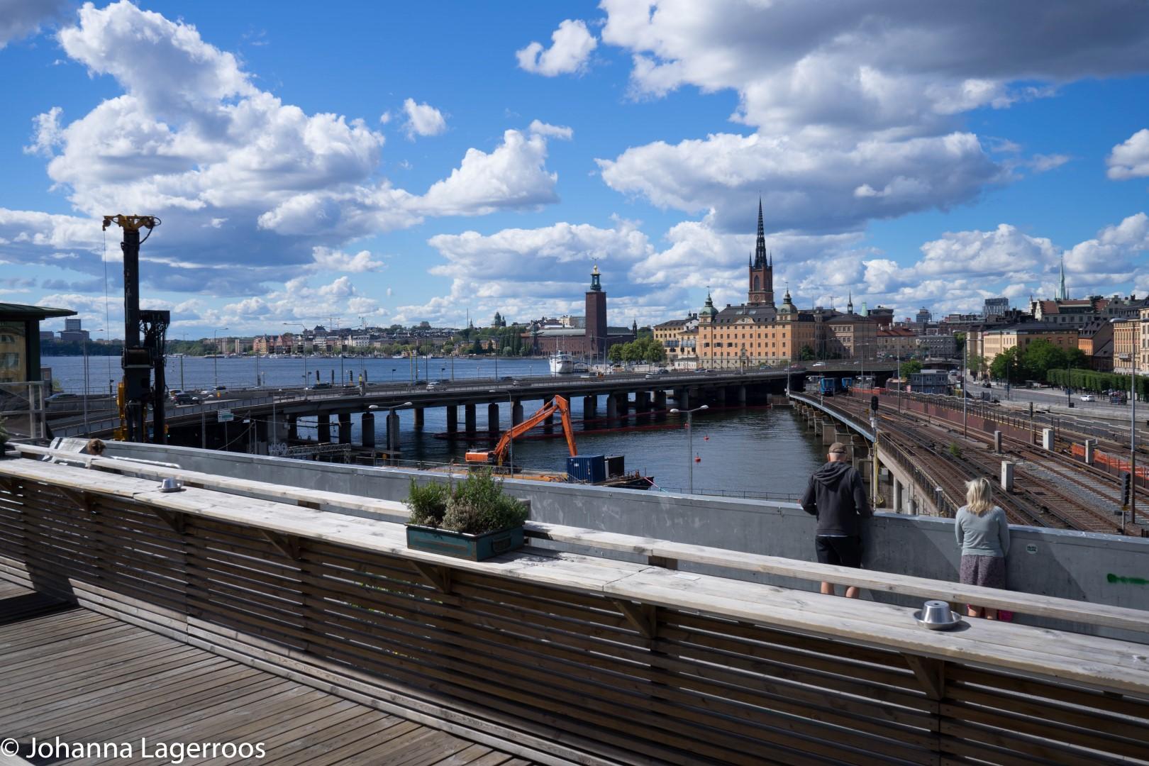 terrace in stockholm