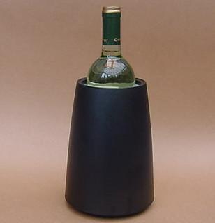 Vacu-vin Rapid Ice Prestige Wine Cooler (Black Plastic)