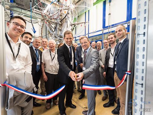 Inauguration de la plateforme Plasma