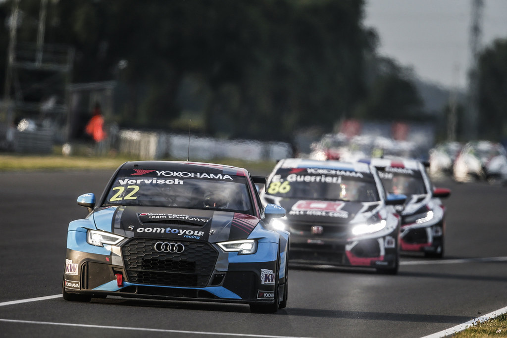 22 VERVISCH Frederic, (bel), Audi RS3 LMS TCR team Comtoyou Racing, action during the 2018 FIA WTCR World Touring Car cup race of Slovakia at Slovakia Ring, from july 13 to 15 - Photo Jean Michel Le Meur / DPPI