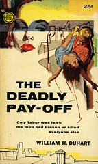 Gold Medal Books 805 - William H. Duhart - The Deadly Pay-Off
