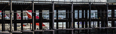 terminal 1 completes exterior steel framing