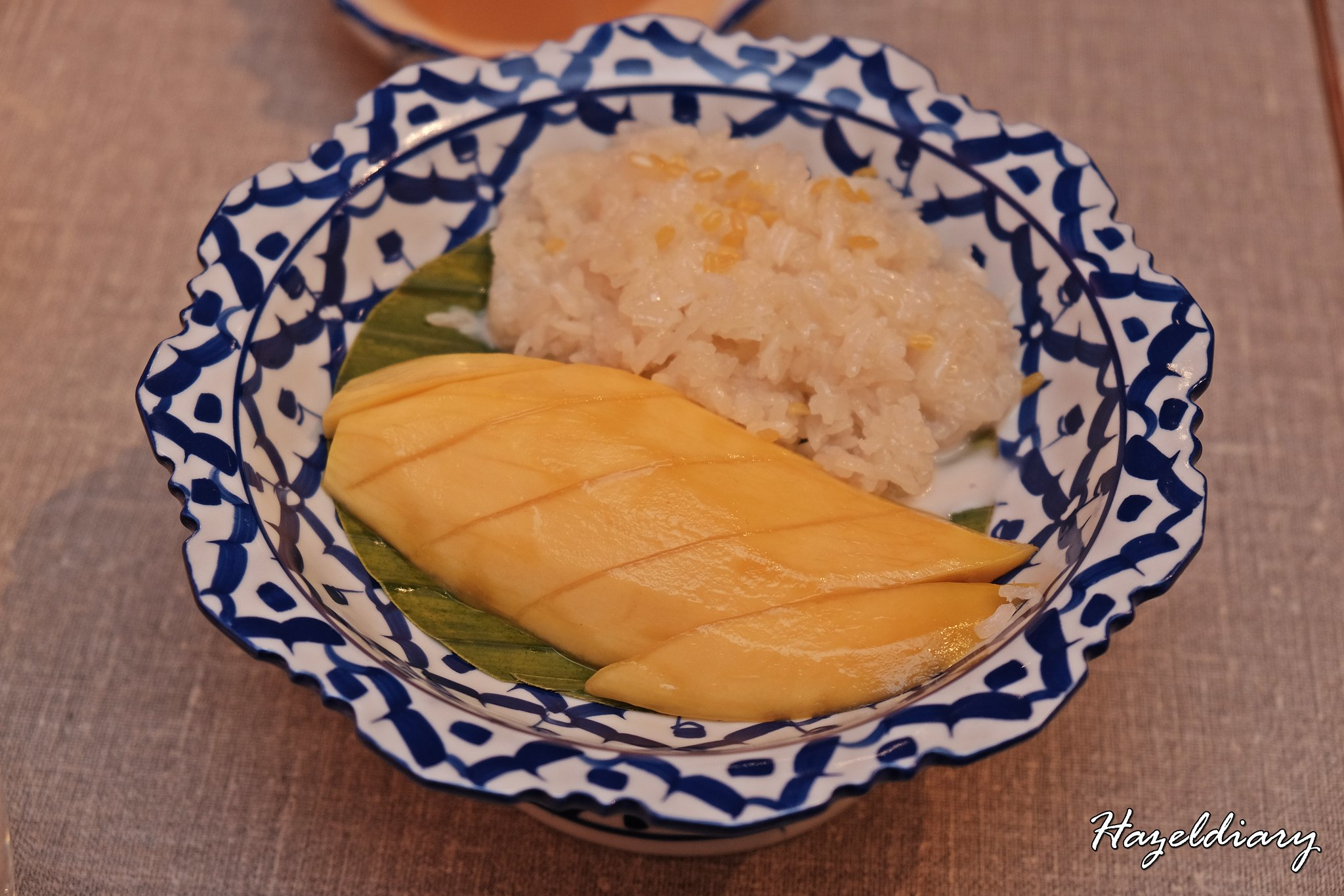 Un Yang Kor Dai-Thai Restaurant-Hazeldiary-Mango Sticky Rice