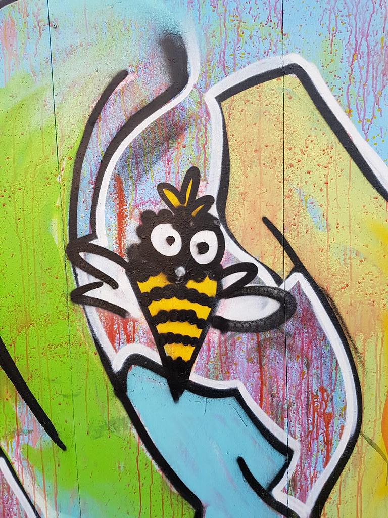 Street art, Milennium Walkway