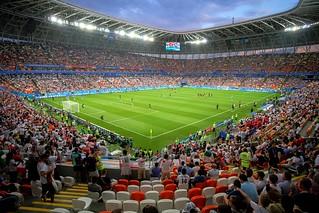 Матч Португалия-Иран. Саранск, Россия