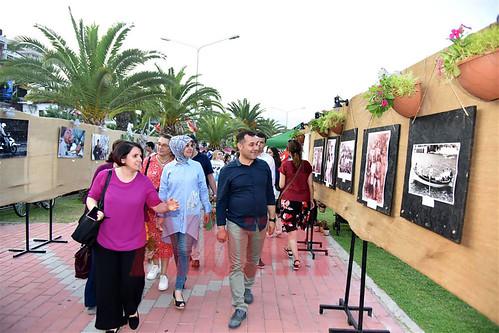 Festival kapsamında açılan Sergilere yoğun ilgi