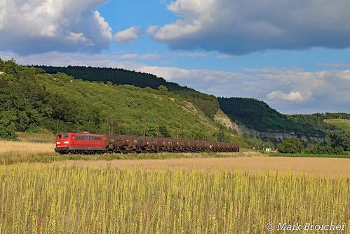 151 041 DB in Karlstadt am 26.06.2018