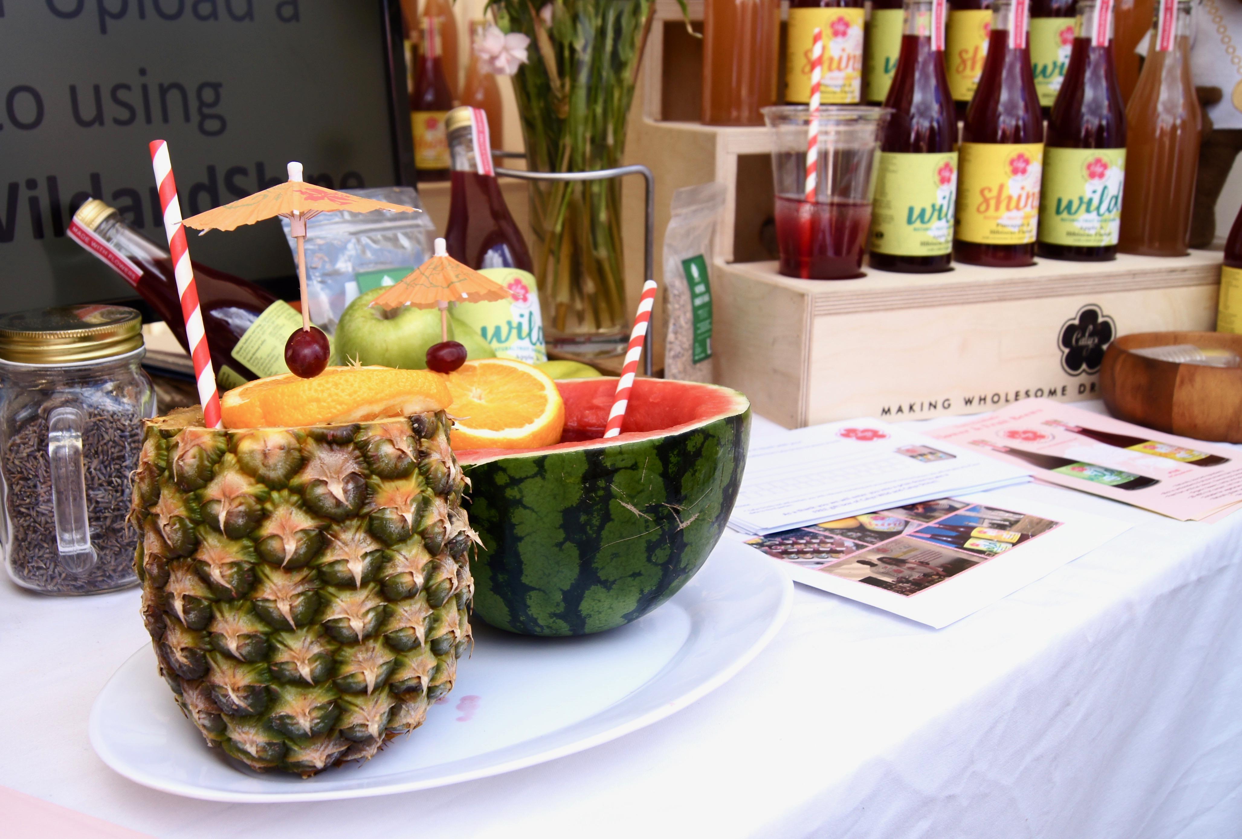 Manchester Eats Festival - pineapple