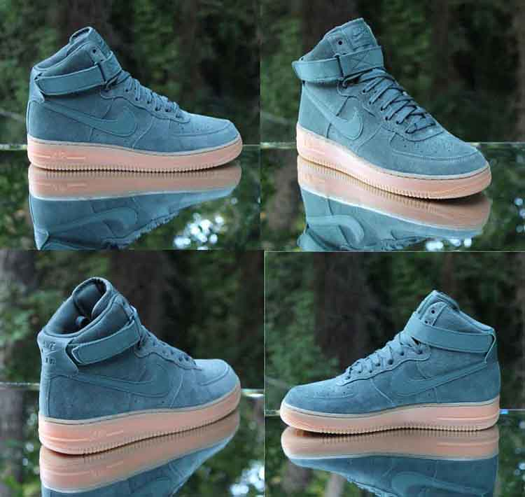 ... Nike Air Force 1 High 07 LV8 Suede Vintage Green AA1118-300 Men s Size  10 dac71074a