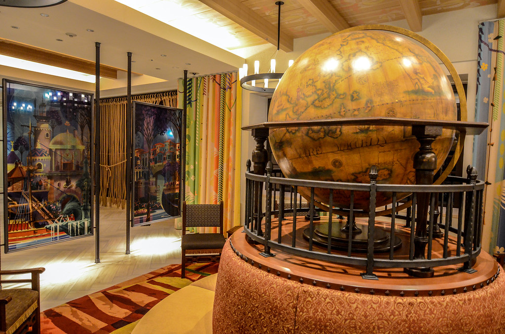 Celebration Hotel globe
