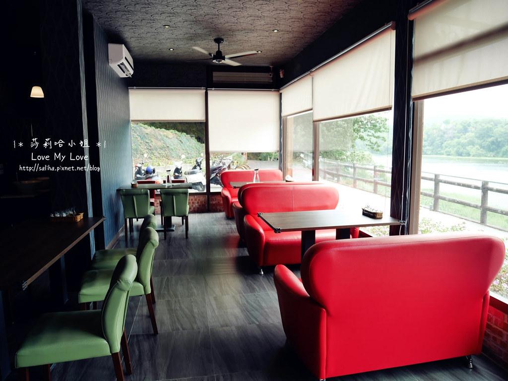 峨眉湖附近景觀餐廳推薦雪之湖咖啡下午茶義大利麵 (4)