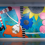 In Sight On Site: Murals - J.C. Milner - Photograph by Wes Magyar