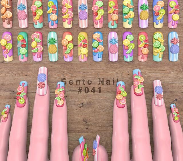 Bento Nail #041