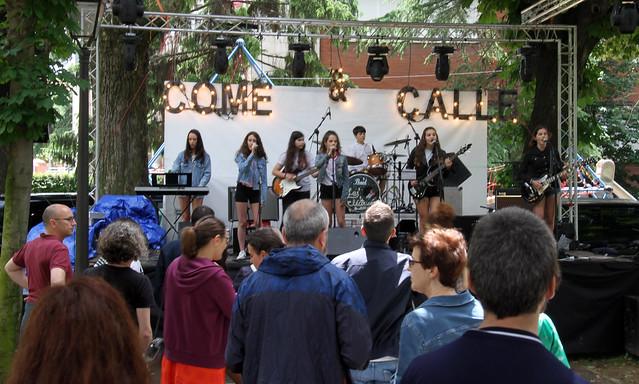 LAS ELÉCTRICAS & LAS LAURAS EN EL COME Y CALLE DEL JARDÍN DE SAN FRANCISCO 1.7.18