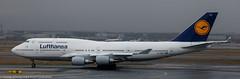 Lufthansa 747 at FRA