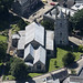 Aerial of St Peter & St Paul Church in Wisbech - Cambridgeshire