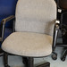 Grey swivel chair E35