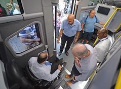 Wheelchair Ramp Express Bus Demo