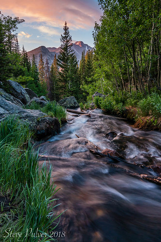 rockymountainnationalpark water longspeak colorado co longexposure longexposurelandscapes sunrise mountains tyndallcreek dreamlake emeraldlake landscape canon canon70d tokina1228 nature flowingwater spring nationalparks usa usnationalparks nps nationalparkservice