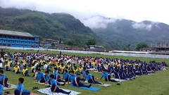 International Yoga Day VKV Yingkiong