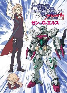 Gundam Build Divers Break -carachter