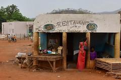 Senegal- near Kedougou- restaurant