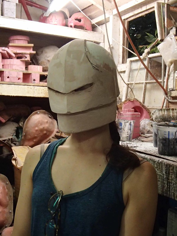 Sororitas Helmet Test Fit
