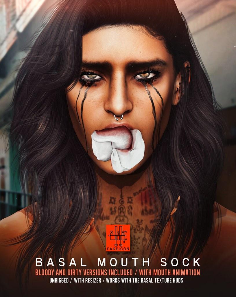 basal mouth sock @ TMJ