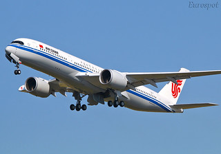 F-WZGZ Airbus A350 Air China