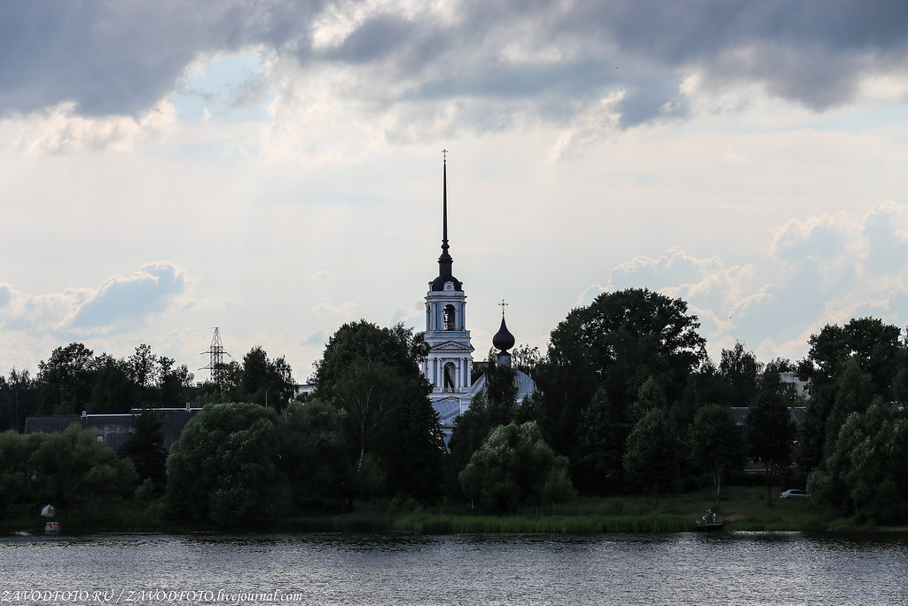 """Cruise on the ship """"Dmitry Furmanov.""""Kalyazin or how we rooted for our monasteries, here, cities, Kalyazin, museum, Kalyazin, God's, Kalyazin, which was built, Thanks, Rev., our, Mother, Here, sights, church, Local lore, total, degrees"""