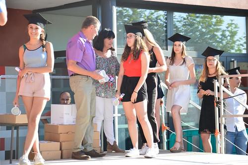 Remise des diplômes du Bac 2018