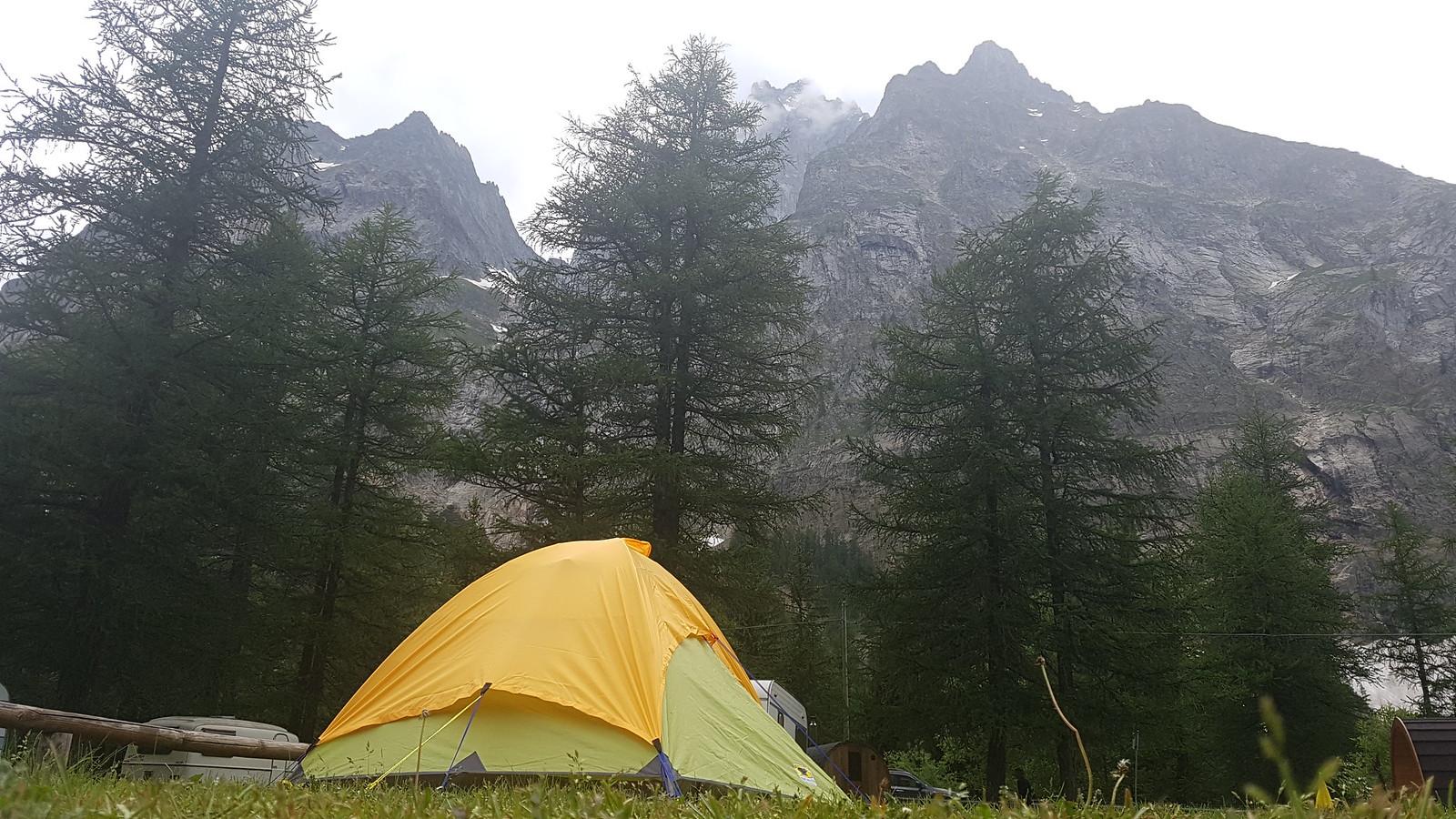 Aiguille Noire Tent