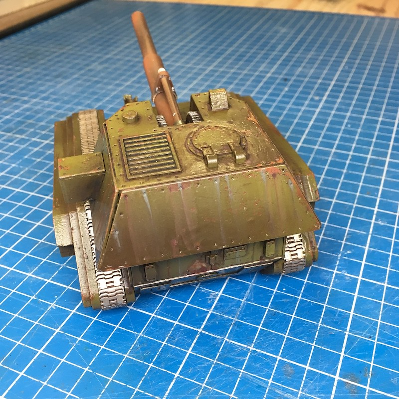 Lasercut basilisk tank green-14