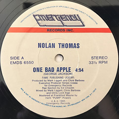 NOLAN THOMAS:ONE BAD APPLE(LABEL SIDE-A)