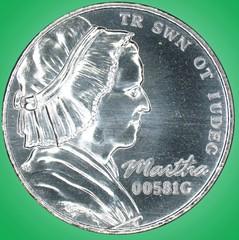 Martha test coin obverse