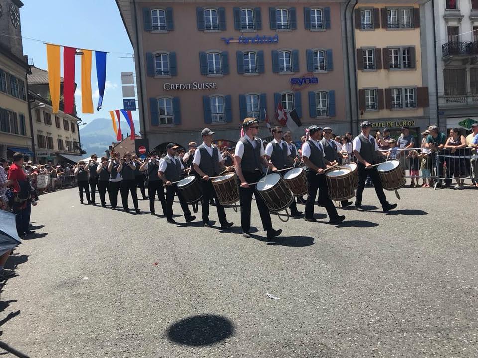 27. Eidgenössisches Tambouren- und Pfeiferfest Bulle