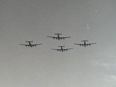 Flypast at RAF Saint Athan
