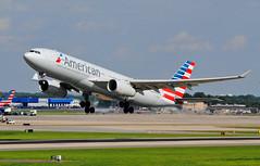 American A330 Departure
