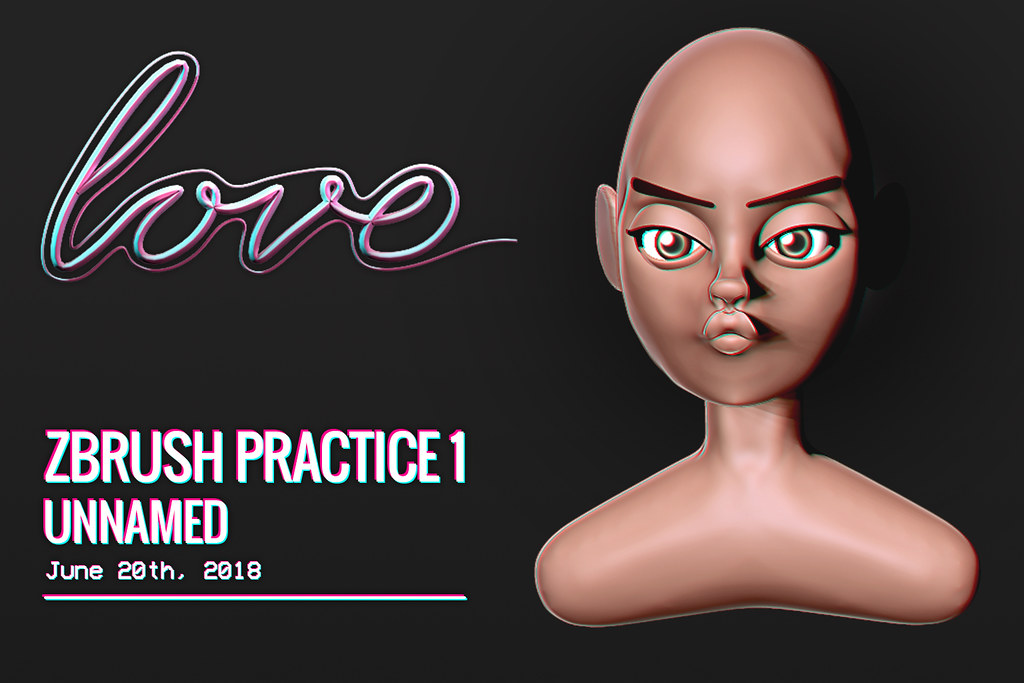 Love [Zbrush Practice 1] Unnamed - TeleportHub.com Live!