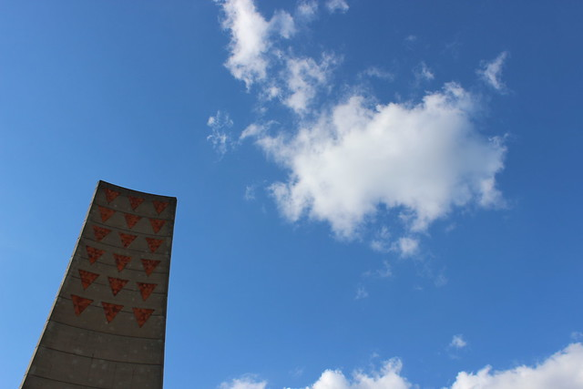 Zentrales Mahnmal der Gedenkstätte Sachsenhausen
