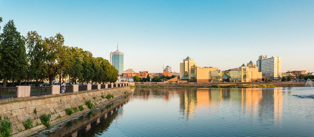 Панорама города Челябинск 2018 / Chelyabinsk city panorama photo 2018