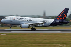 Brussels Airlines / A319 / OO-SSA